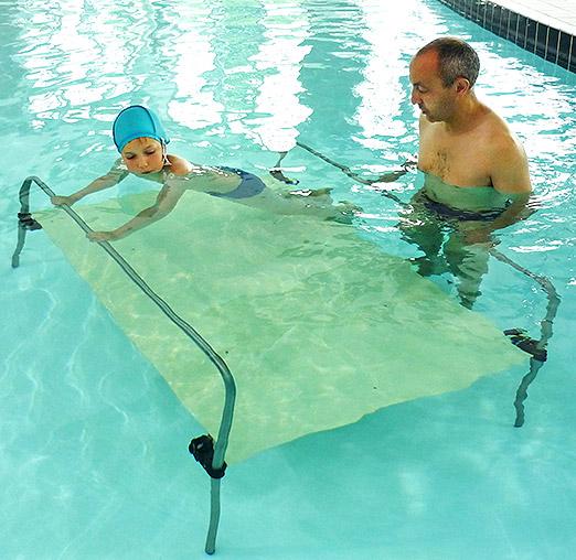 Schwimm-Plattform für Kinder archimède