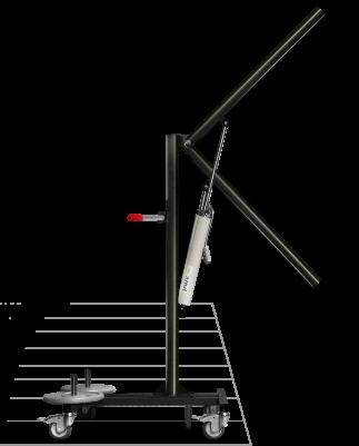 Mât de levage mobile de piscine Archimède - Accessibilité handicapé