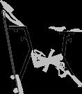 reglages - vélo de piscine - Optima pro - Archimède