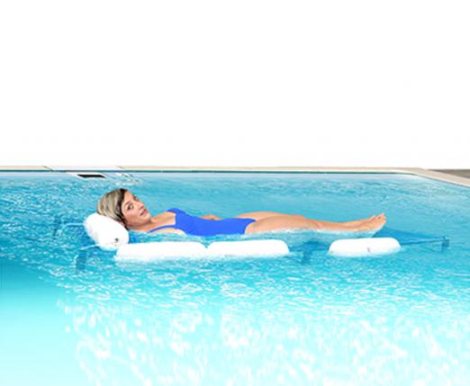 Bahre auf Wagen von pool archimède