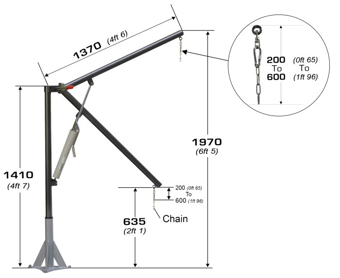 Hydraulic lift Archimede