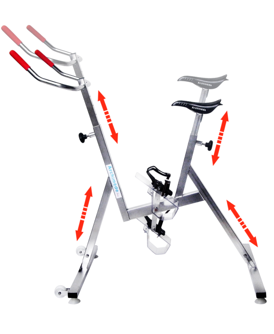 aqua spinning - pool bike - Aquabike - Archimede