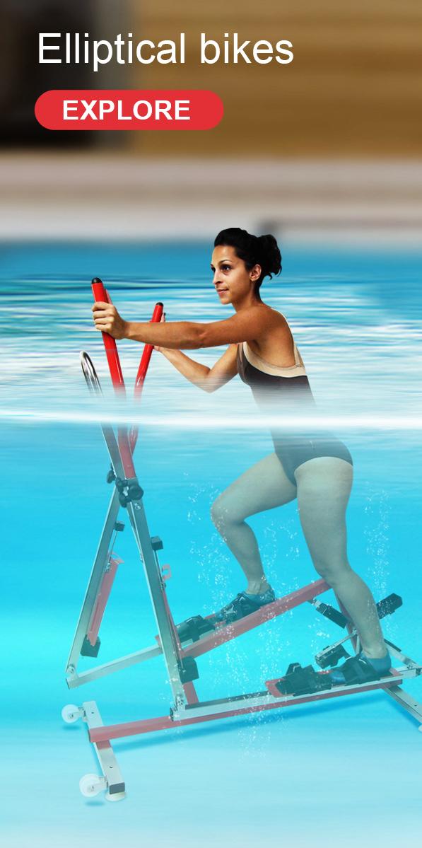 Elliptical bikes - aquafit - archimède