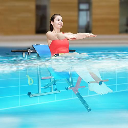 Rééducation en piscine -Archimède - Jointec france