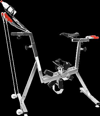 vélo de piscine - aquabike - aquafitness - silver - archimède