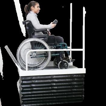Plateau elevateur Archimède - Accessibilité handicapé