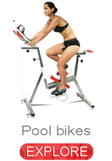 pool bikes