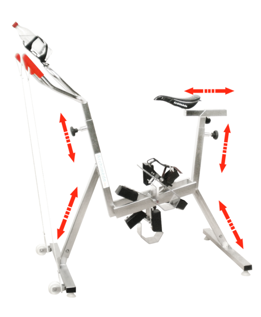 vélo de piscine silver 6 - aquabike - Archimède