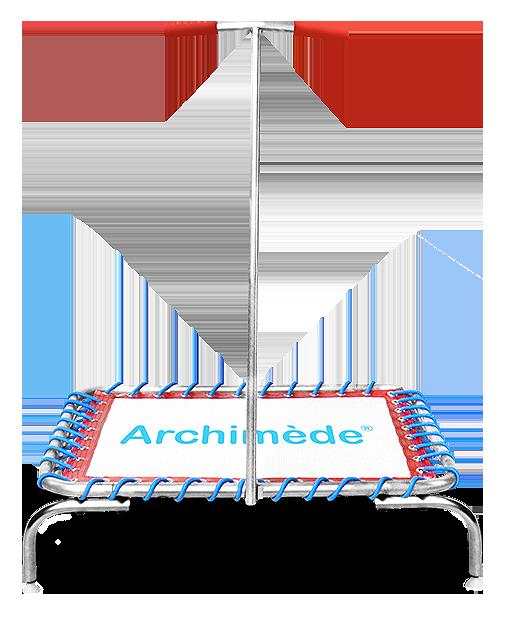 Trampoline de piscine - trampoline aquatique - aqua jump - aquafitness - archimède