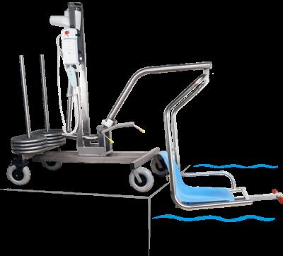 transbordeur mobile archimède - soulève personne - Accessibilité handicapé