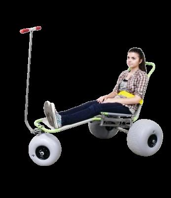 fauteuil tout terrain triroll Archimede - Accessibilité handicapé