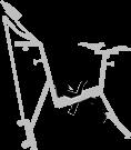 pédalier - vélo de piscine - Optima pro - Archimède