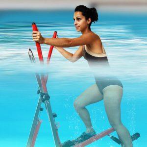 vélo elliptique de piscine - vélo elliptique aquatique - aquaelliptique - aquafitness - archimède