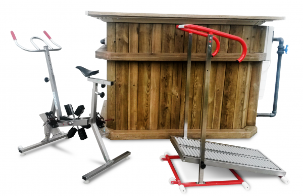 woodbike - vélo de piscine - archiméde